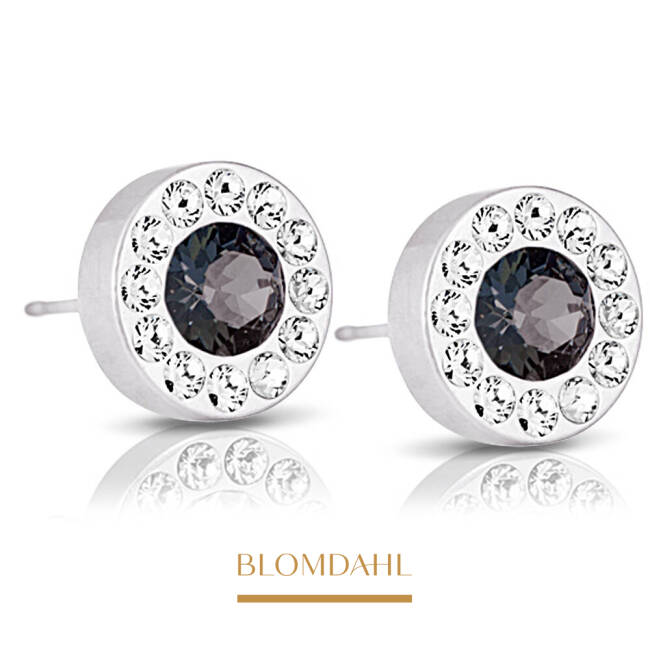 Brilliance Halo Crystal / Black Diamond 8 mm SFJ