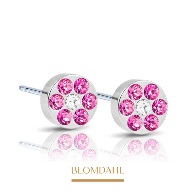 Brilliance Plenary Rose/ Crystal 5 mm SFJ