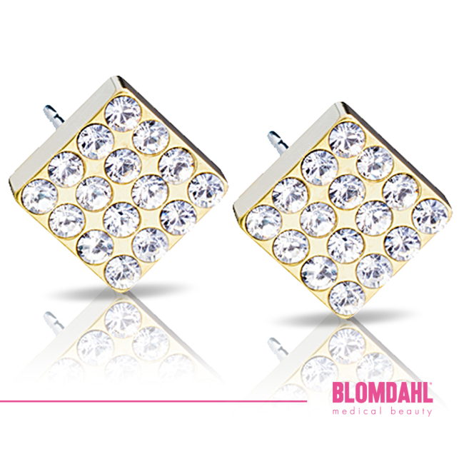 Brilliance Square Crystal 8 mm SFJ